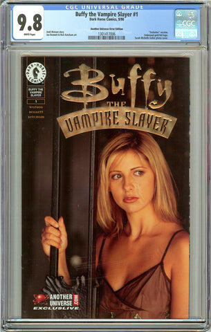 Buffy the Vampire Slayer #1 CGC 9.8 White Pages 1301417006 Exclusive version