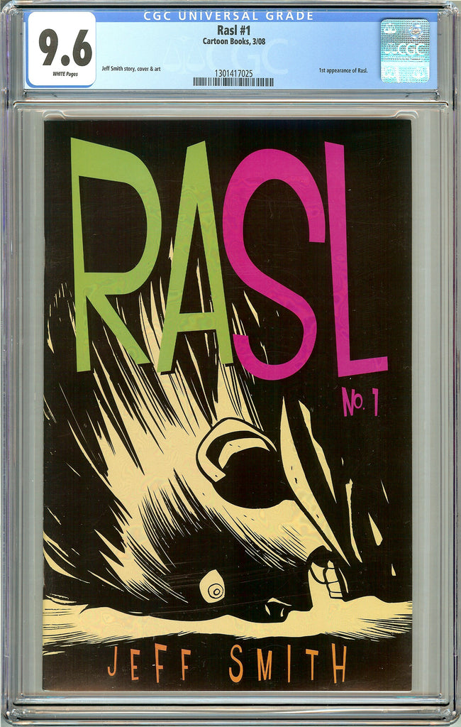 RASL #1 CGC 9.6 White Pages (2008) 1301417025