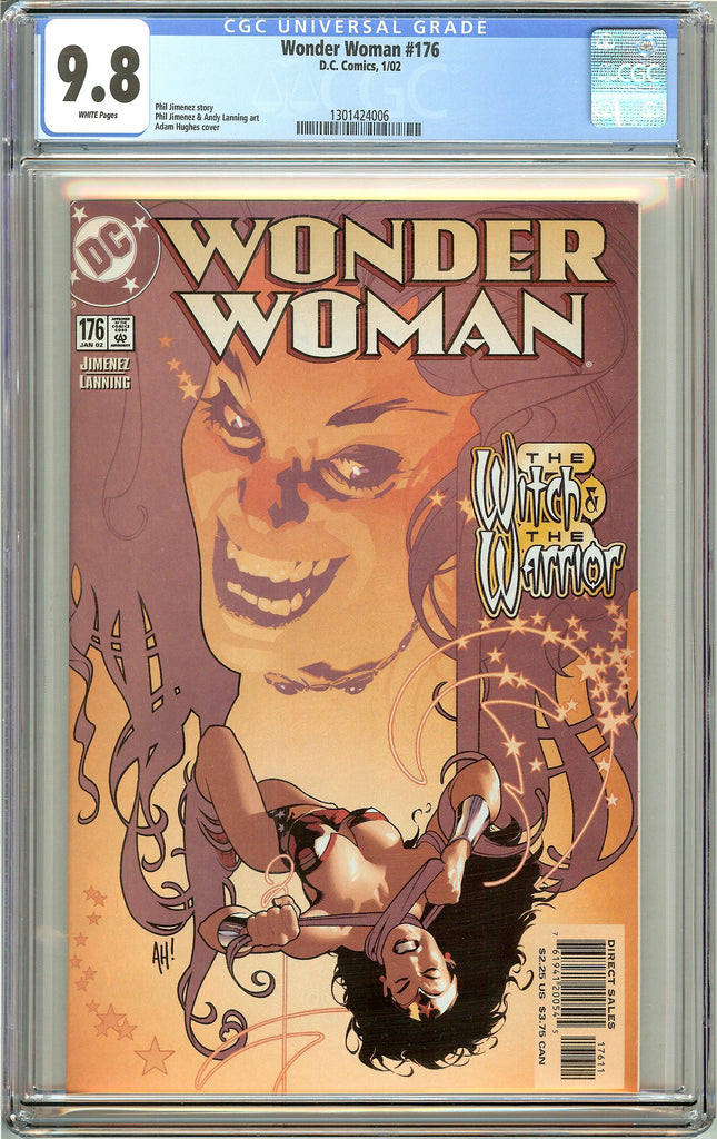 Wonder Woman #176 CGC 9.8 White Pages 1301424006 Adam Hughes cover