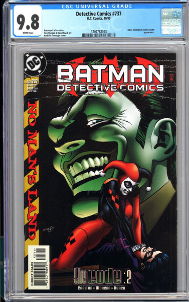 Detective Comics #737 CGC 9.8 White Pages 3707768013