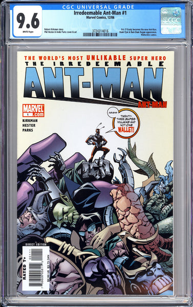 Irredeemable Ant-Man #1 CGC 9.6 WP 2006 3724314016 Eric O'Grady New Ant-Man