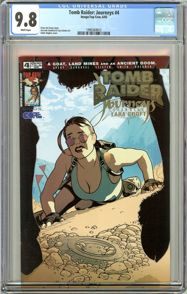 Tomb Raider Journeys #4 CGC 9.8 White Pages 1990364012