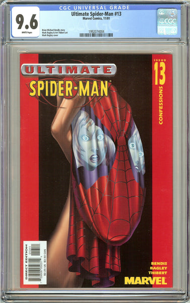 Ultimate Spider-Man #13 CGC 9.6 White Pages (2001) 1992074004