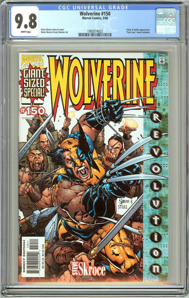 Wolverine #150 CGC 9.8 White Pages (2000) 1992074022