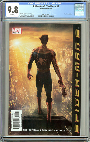 Spider-Man 2 The Movie #1 CGC 9.8 White Pages 1992078021