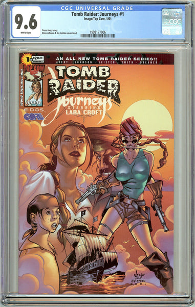 Tomb Raider Journeys #1 CGC 9.6 White Pages 1992177006