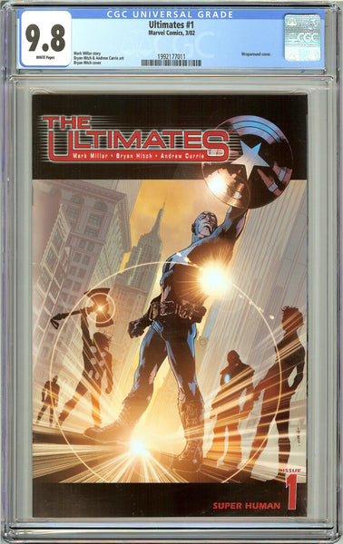 Ultimates #1 CGC 9.8 White Pages (2002) 1992177011