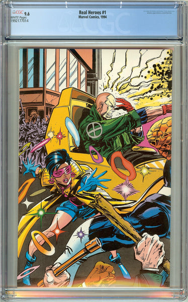 Real Heroes #1 CGC 9.6 White Pages (1994) 1992177014