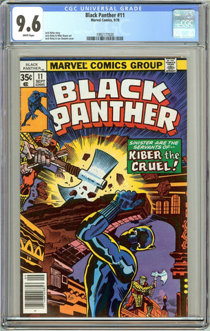 Black Panther #11 CGC 9.6 White Pages (1978) 1992177020