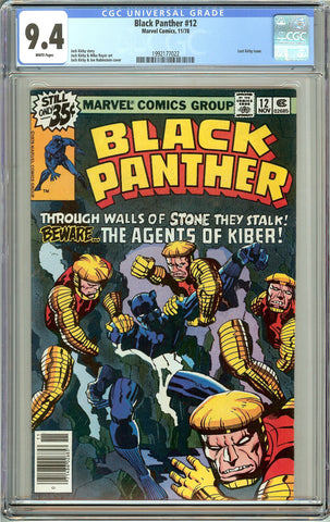 Black Panther #12 CGC 9.4 White Pages (1978) 1992177022