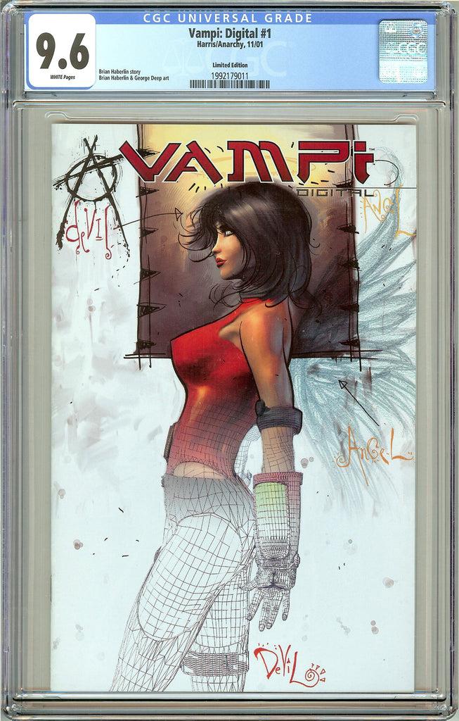 Vampi Digital #1 CGC 9.6 White Pages 1992179011 (Harris/Anarchy 2001)