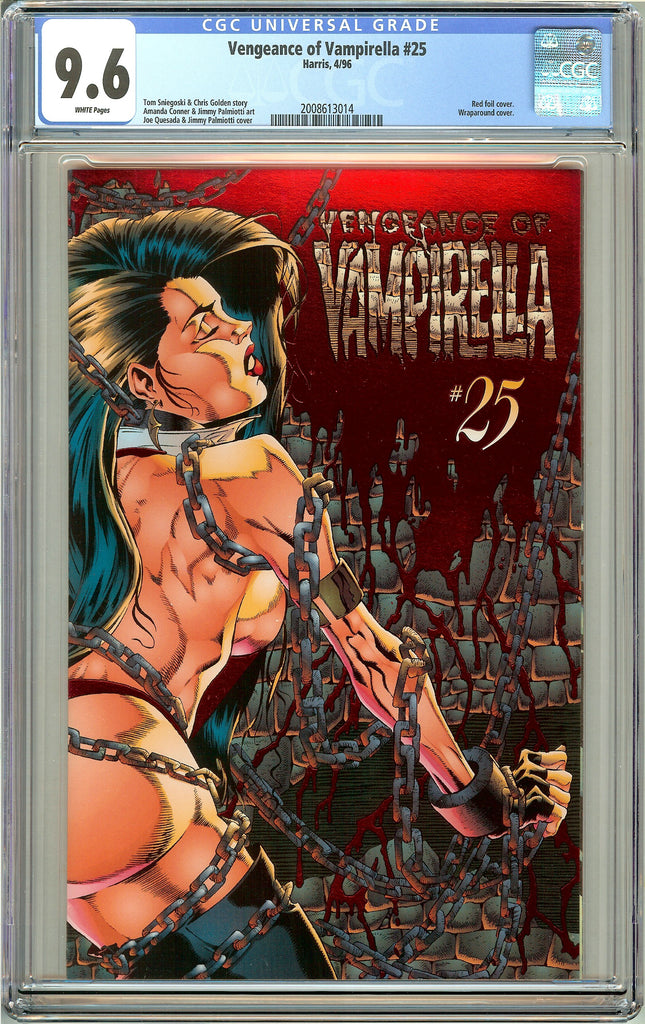 Vengeance of Vampirella #25 CGC 9.6 White Pages (1996) 2008613014