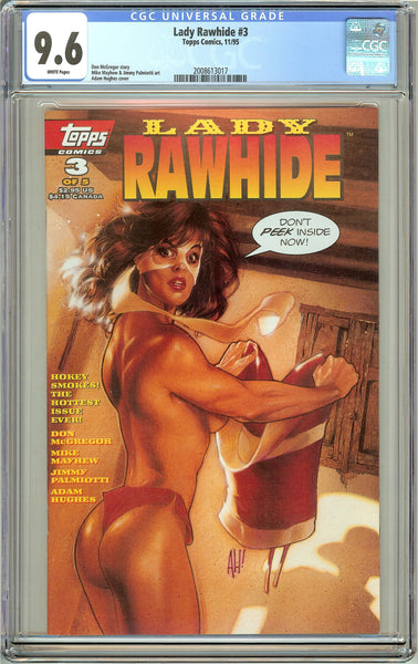 Lady Rawhide #3 CGC 9.6 White Pages (1995) 2008613017