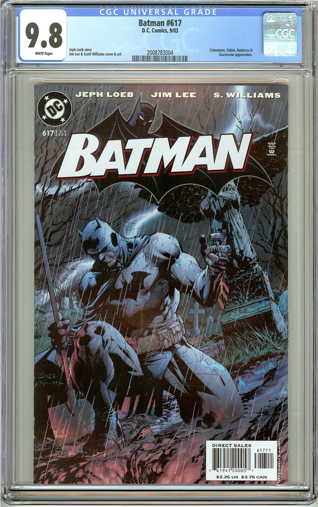 Batman # 617 CGC 9.8 White Pages (2003) 2008783004