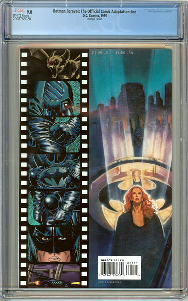 Batman Forever CGC 9.8 White Pages (1995) 2008783020 Movie Adaptation