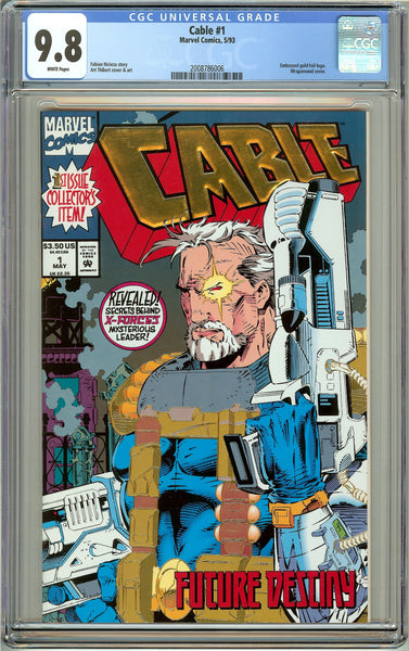 Cable #1 CGC 9.8 White Pages (1993) 2008786006