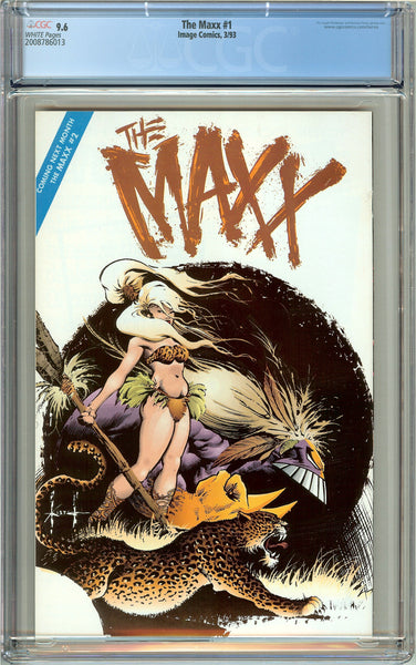 Maxx #1 CGC 9.6 White Pages (1993) 2008786013