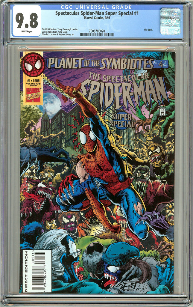 Spectacular Spider-Man Super Special #1 CGC 9.8 White Pages 2008786020