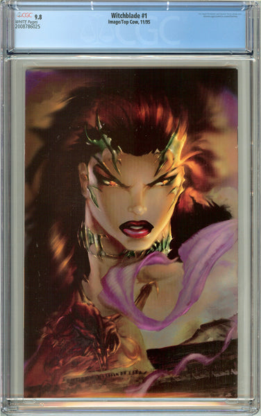 Witchblade #1 CGC 9.8 White Pages (1995) 2008786025