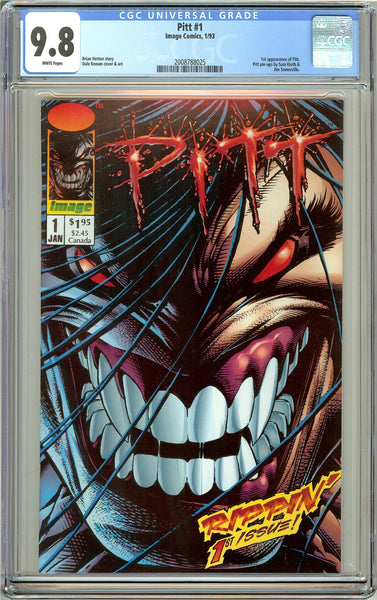 Pitt #1 CGC 9.8 White Pages 2008788025