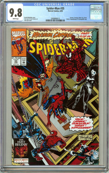 Spider-Man #35 CGC 9.8 White Pages 2008866013 Venom