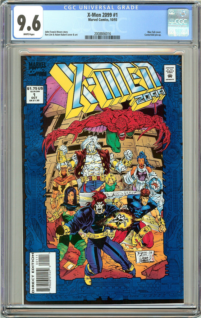 X-Men 2099 #1 CGC 9.6 White Pages (1993) 2008866016