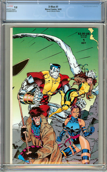 X-Men #1 CGC 9.8 White Pages (1991) 2008895010 Collectors Edition