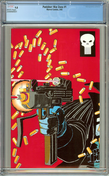 Punisher War Zone #1 CGC 9.8 White Pages (1992) 2008984001
