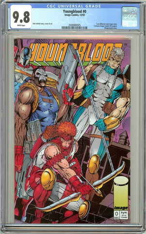 Youngblood #0 CGC 9.8 White Pages (1992) 2008984005