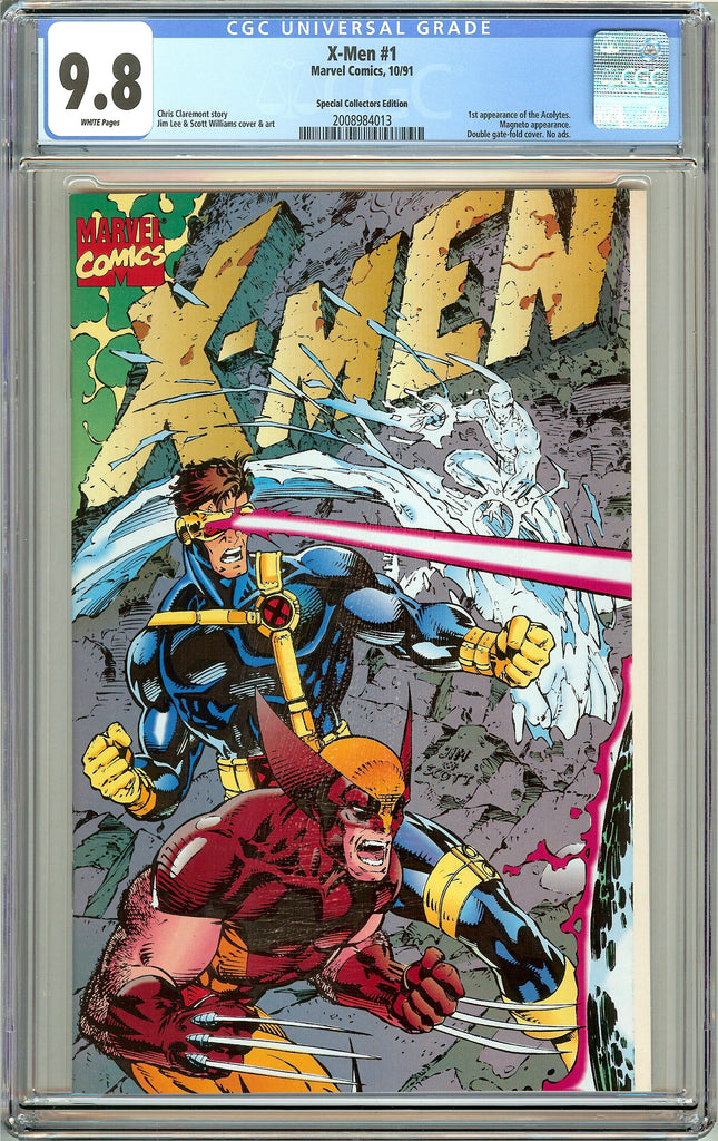X-Men #1 CGC 9.8 White Pages (1991) 2008984013 Collectors Edition