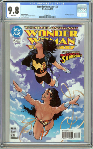 Wonder Woman #153 CGC 9.8 White Pages 2009565010 Adam Hughes cover