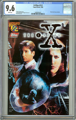 X-Files #1/2 CGC 9.6 White Pages (1996) 2009565025 Wizard