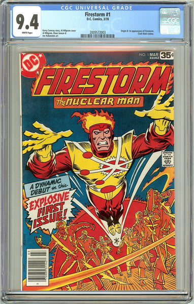 Firestorm #1 CGC 9.4 White Pages (1978) 2009572003