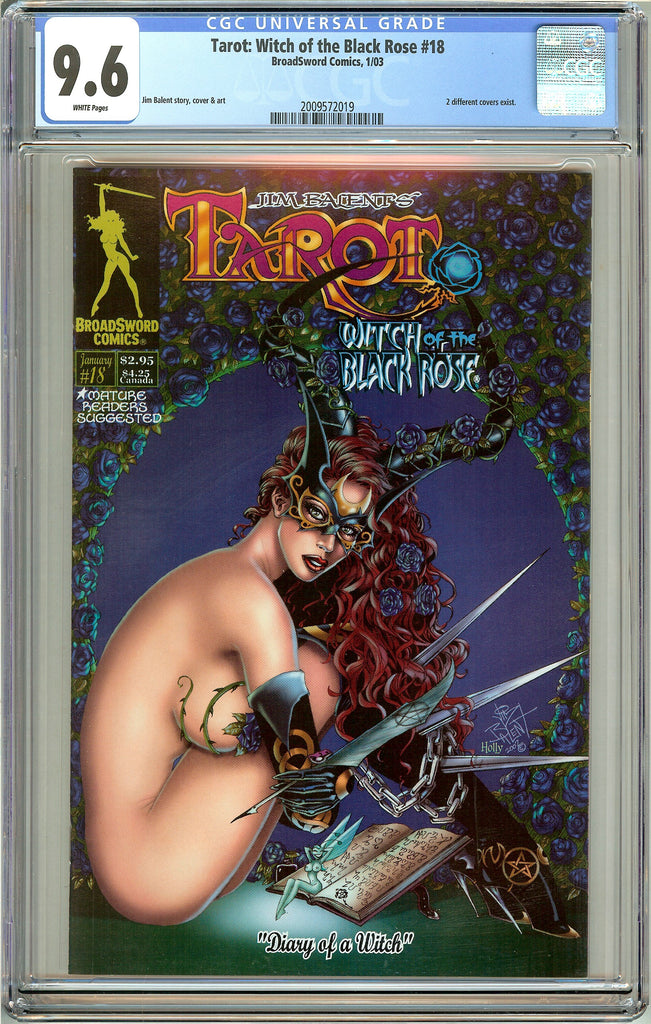 Tarot Witch of the Black Rose #18 CGC 9.6 White Pages 2009572019
