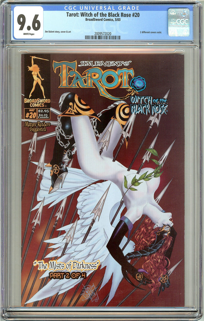 Tarot Witch of the Black Rose #20 CGC 9.6 White Pages 2009572020