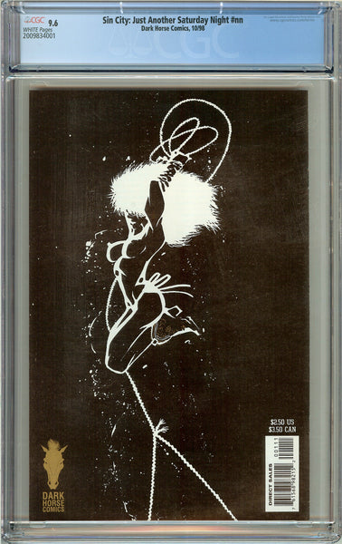 Sin City Just Another Saturday Night CGC 9.6 White Pages 2009834001 (1998)