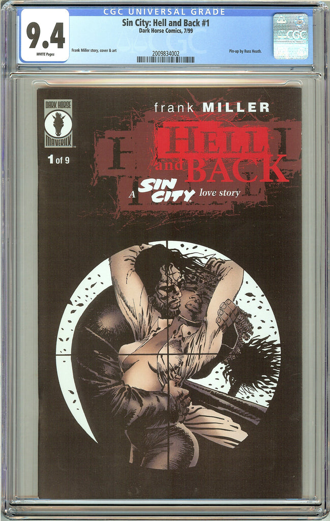 Sin City Hell & Back #1 CGC 9.4 White Pages 2009834002 (1999)