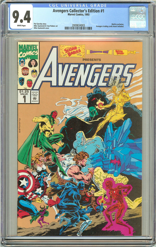Avengers Collector's Edition #1 CGC 9.4 White Pages (1993) 2009834003