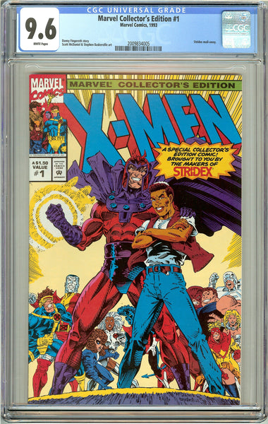 Marvel Collector's Edition #1 CGC 9.6 White Pages (1993) 2009834005