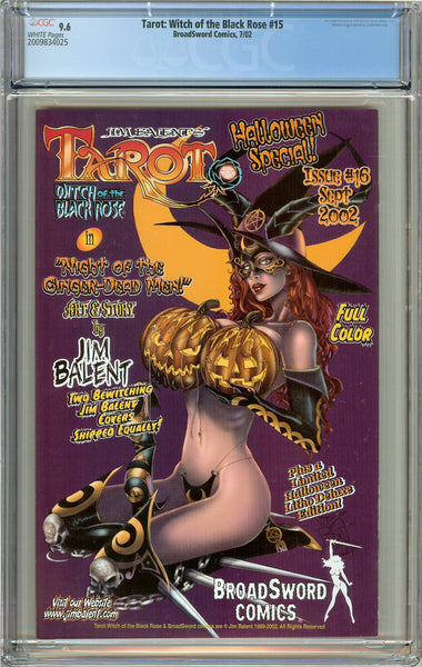 Tarot Witch of the Black Rose #15 CGC 9.6 White Pages 2009834025