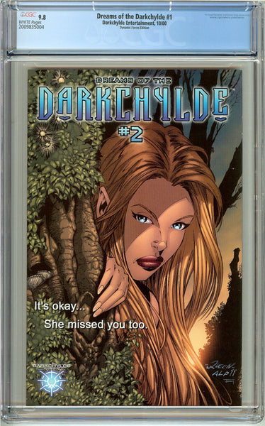Dreams of the Darkchylde #1 CGC 9.8 White Pages 2009835004 DF Edition