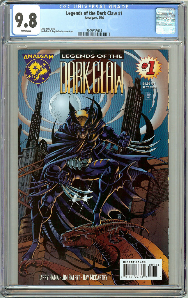 Legends of the Dark Claw #1 CGC 9.8 White Pages 2009835014