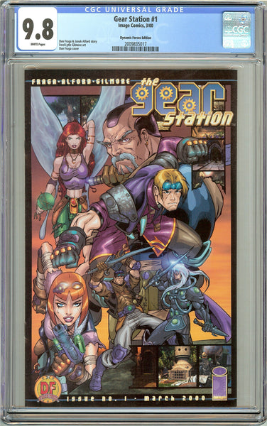 Gear Station #1 CGC 9.8 White Pages (2000) 2009835017 DF Edition