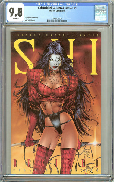Shi Rekishi Collected Edition #1 CGC 9.8 White Pages 2009835021