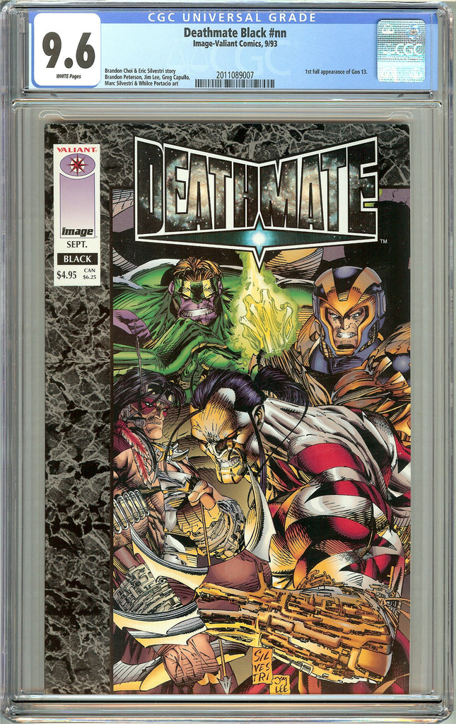 Deathmate Black CGC 9.6 White Pages (1993) 2011089007 1st Gen 13
