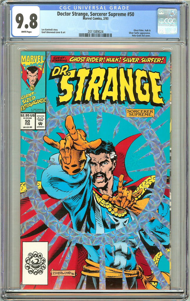 Doctor Strange Sorcerer Supreme #50 CGC 9.8 White Pages (1993) 2011089024