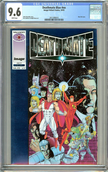 Deathmate Blue CGC 9.6 White Pages (1993) 2011090010