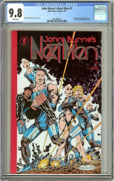 John Byrne's Next Men #1 (1992) CGC 9.8 White Pages 2011090011
