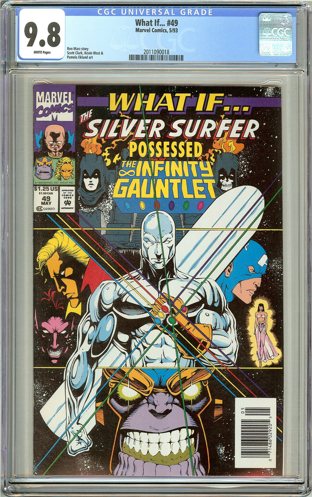 What if ... #49 CGC 9.8 White Pages (1993) 2011090018
