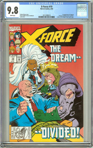 X-Force #19 CGC 9.8 White Pages (1993) 2011090019 1st Copycat